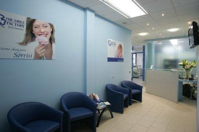 Sala d'attesa a Reggio Emilia